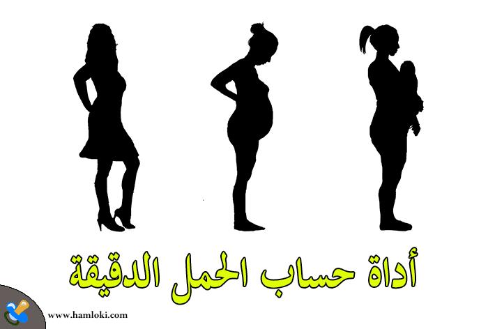 أداة حساب الحمل بالميلادي - أفضل حاسبة الحمل و حساب ايام التبويض بدقة كبيرة